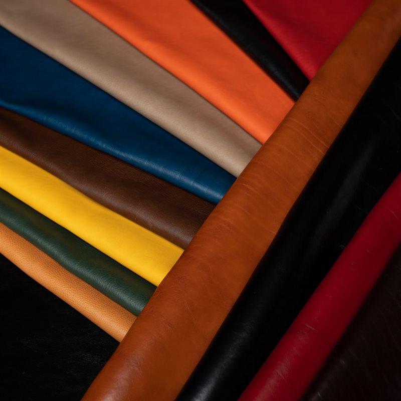 Leather European Colour Vegged Tanned