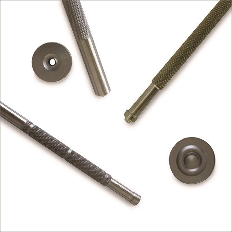Outils pour pose au marteau pour oeillets