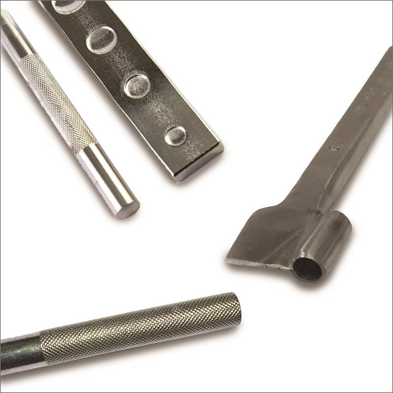 Outils pour pose au marteau pour rivets
