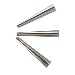 Cônes aluminium nickel 29 mm (100)