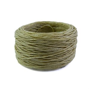 Waxed polyester thread for Speedy natural color (coarse) (30 yards)