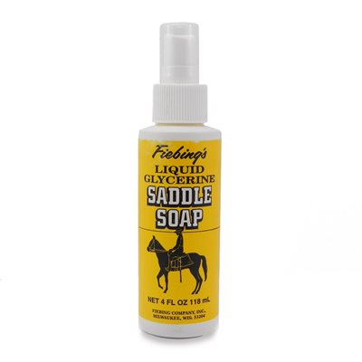 Fiebing's liquid glycerine saddle soap (4 oz)