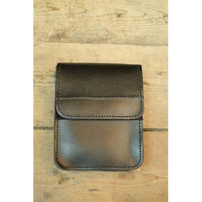 Multiple uses holster, black leather LIQUIDATION