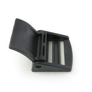 """Boucle à levier CAM 1-1 / 2"""" en nylon noir (Min. 12)"""