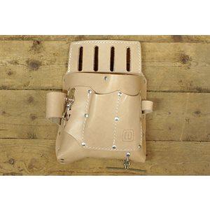 Porte-outils de cuir pour maître électricien (bricoleur ou professionnel)