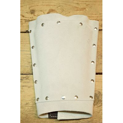 Protège avant-bras, suède et aluminium