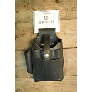 Utility holster, large size, pliers, full grain leather