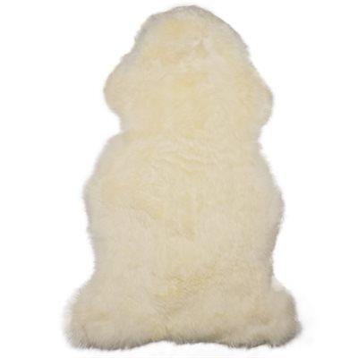 Peau mouton poils longs 115cm+