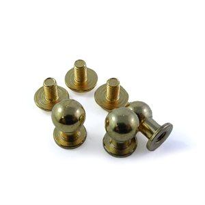 Piolino laiton fini or - 7 mm X 7 mm X 10 mm (un)