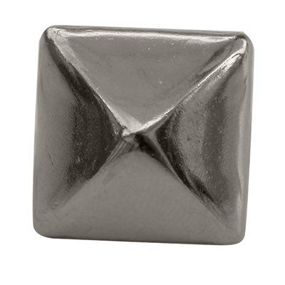 """Pyramides 1 / 4"""" en nickel sur laiton (antirouille) (100)"""
