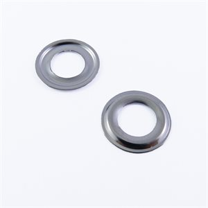 "Rondelles 1 / 4"" #0 sheet (AR) nickel (OK O50) (100)"